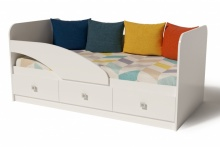 Кровать Умка-5 (в белом цвете)
