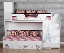 Кровать Модница-4 + кровать Модница-6 New