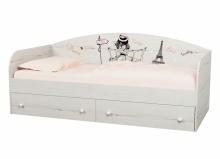 Кровать коллекции Кокетка NEW