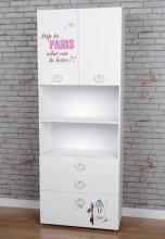 Шкаф-пенал 1 коллекции Модница New