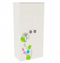 Шкаф для одежды Цветы New