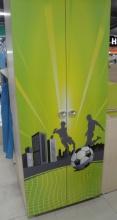 Шкаф платяной Футбол