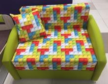 раскладной диван Даня (ткань Лего грин)