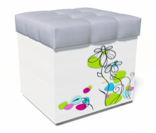 Банкетка Цветы New
