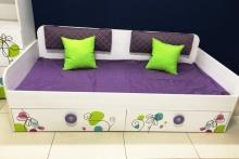 Кровать Цветы-6 New