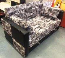 раскладной диван Лотос (ткань италия грей)