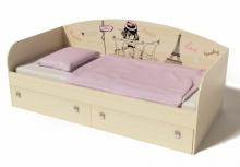 Кровать коллекции Кокетка