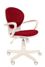 Кресло РК-14 (бордо, белый пластик)