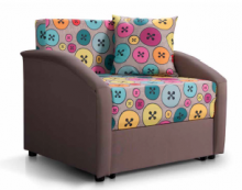 раскладной диван Даня 750 (ткань пуговки)