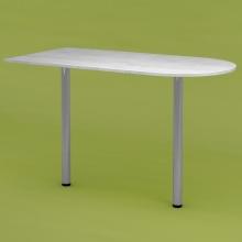 Стол приставной RDU-120 (рамух белый)