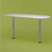 Стол приставной RDU-140 (рамух белый)