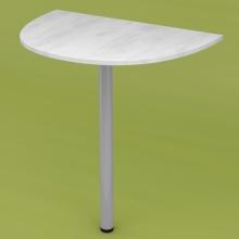 Стол приставной RDU-60 (рамух белый)