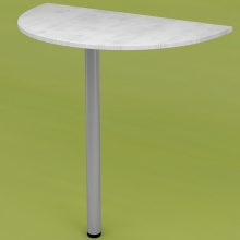 Стол приставной RDU-70 (рамух белый)