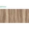 Шкаф-купе 1 ш1500 корпус дуб каньон+фасады белые (профиль белый)
