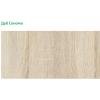 Шкаф-купе 1 ш1500 корпус дуб сонома+фасады белые (профиль белый)