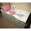 Кровать Малыш (цвет белый) правая/левая