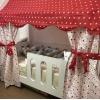 Кровать Теремок (в белом цвете) правая/левая