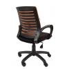 Кресло РК 16 ТОР оранжевое, пластик черный